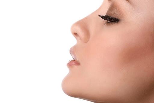 Dorso nasal maior que o normal