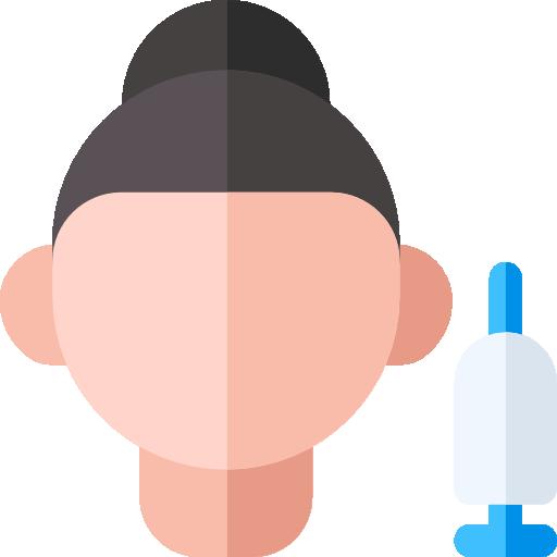 icone rosto procedimentos estéticos